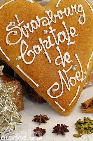 Pains d'épices de Noël artisanal de chez Mireille Oster (Strasbourg capitale de Noel), Strasbourg © Jean Isenmann