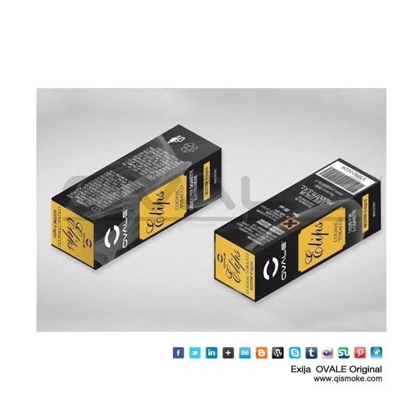 FABRICAÇÃOEUROPEIA SABOR:COGNAC TOBACO20 mLDisponível em 3 teors16 mg/ml9  mg/ml0  mg/ml