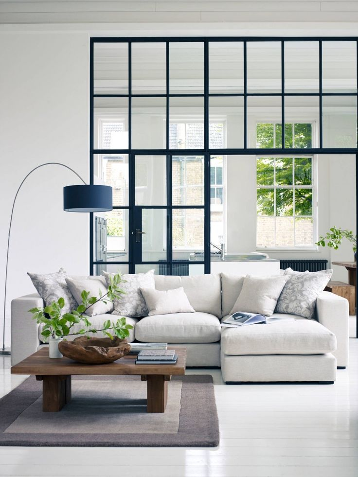 17 Best Ideas About White Sectional On Pinterest Cozy