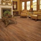 Home Legend Hand Scraped Vancouver Walnut 10 mm Thick x 7-9/16 in. Wide x 47-3/4 in. Length Laminate Flooring (20.06 sq. ft. / case)-HL1014 - The Home Depot