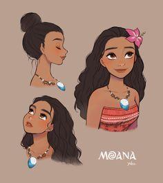 MOANA Drawings Dibujo Disney Fondo de Pantalla                                                                                                                                                                                 Más