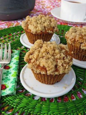 Muffins de manzana con crocante, especial #singluten | CeroTACC