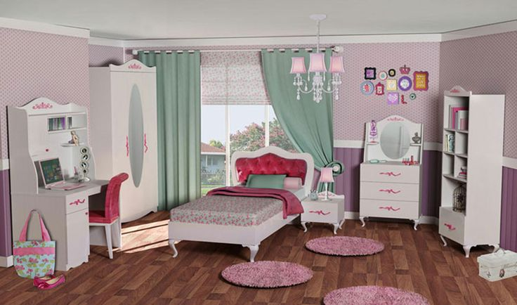 Papatya Genç Odası #pink #genc #yildizmobilya #pinterest #princess #prenses #flower #mobilya #yatak #pinterest  http://www.yildizmobilya.com.tr/