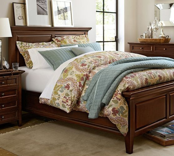 Hudson Bed Pottery Barn House Amp Home Bedrooms