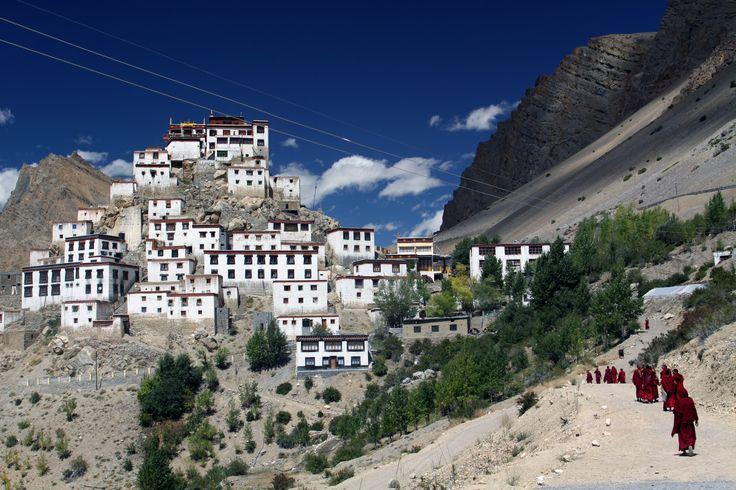 Ki Monastery, Spiti Valley, India
