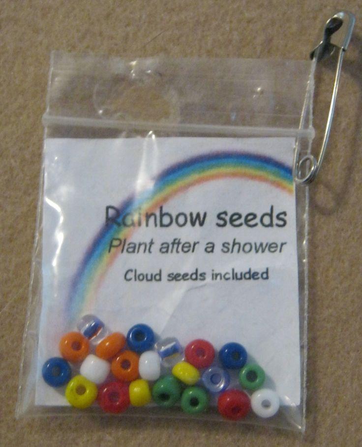 Rainbow seeds swap! Cute!!