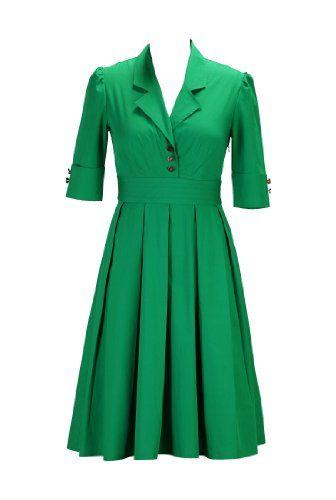 eShakti Women's Retro poplin shirtdress XS-0 Regular Jade green eShakti http://www.amazon.com/dp/B00JMDPNEE/ref=cm_sw_r_pi_dp_lTVUtb01YW0N4VN3