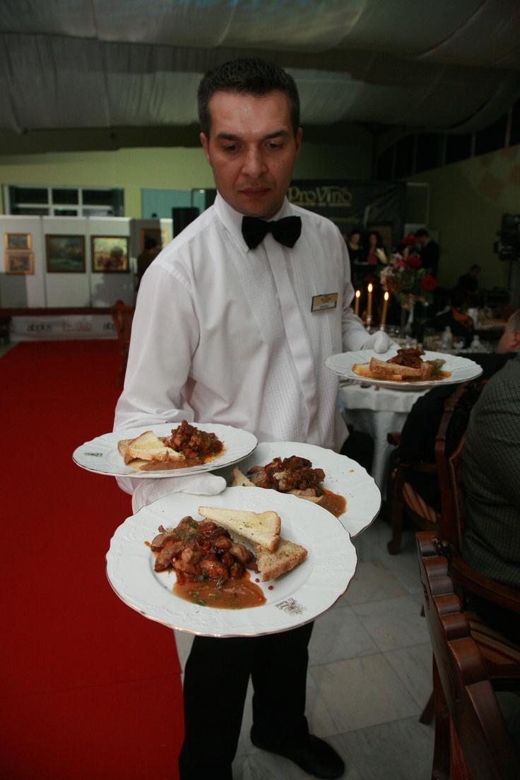 Tastefull dinner at PROVINO
