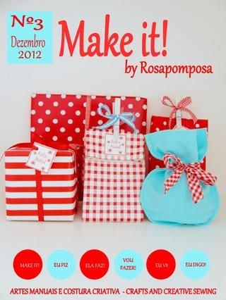 Make it nº3 A sua revista de costura criativa e muito mais!