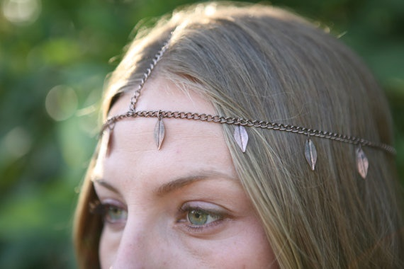 SALE artemis goddess of nature headchain by marade83 on Etsy, $30.00