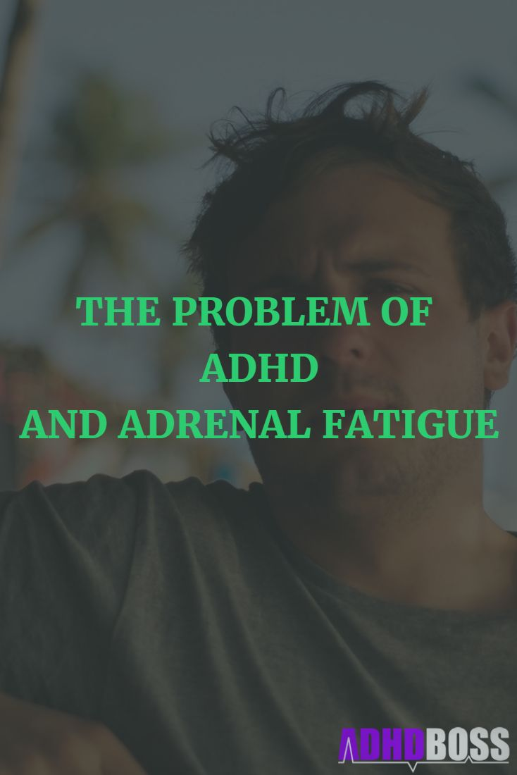 People with ADHD are at risk of developing adrenal fatigue. This article shows you everything that you need to know about preventing and healing adrenal fatigue. Check it out here: http://adhdboss.com/adhd-adrenal-fatigue-risk/