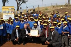 Bell uplifts the lives of learners at Sigisi Primary