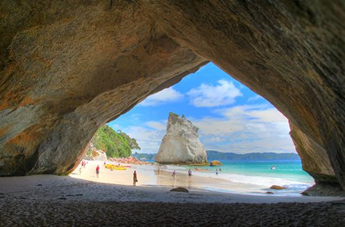 Cathedral Cove Bay of Plenty, New Zealand - want to go back right now