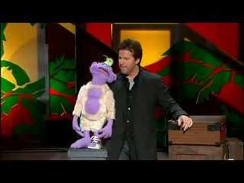 Jeff Dunham and Peanut Oh GOD how I love him!! Peanut is ME in puppet form-ADD doesn't cover it hahah