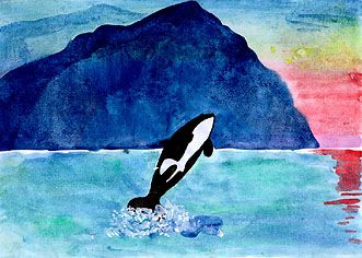 Killer Whale - Care2 eCards, Free Online Animated Greeting Cards