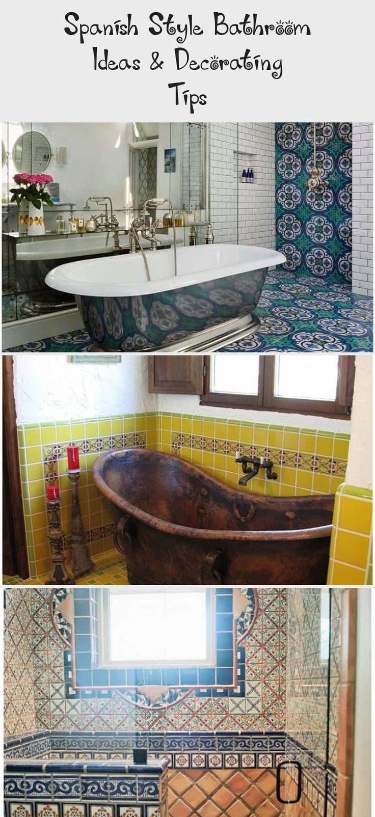 Spanish Style Black Bathroom Tile Home Bathrooms Remodel Beautiful Bathrooms