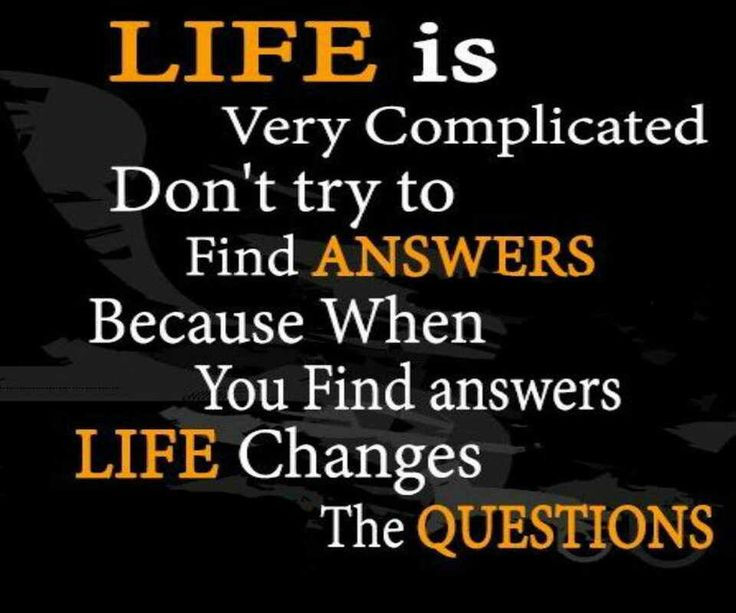 life is not complicated quotes relationship