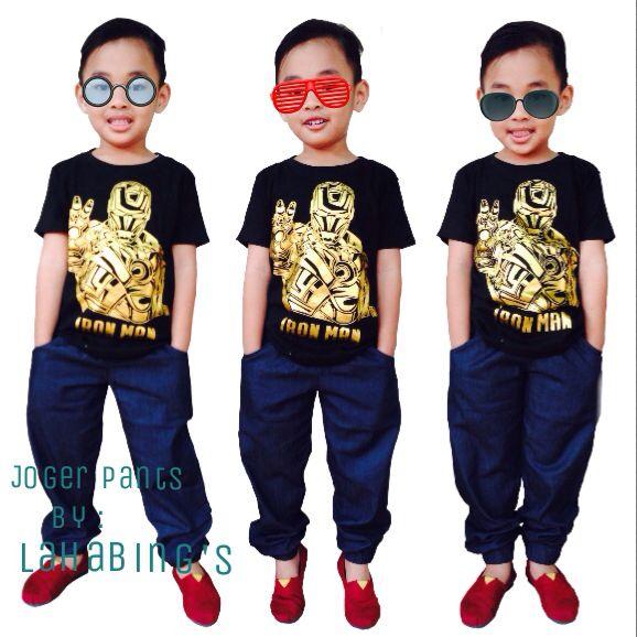 Joger Pants by : Lahabing's #kidswear #joger #pants #kids