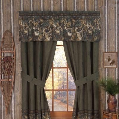 Perfect Stop By Camo Trading Now And Look At Our Fantastic Assortment Of Camouflage  Curtains, For Example These Browning Whitetails Rod Pocket Drapes!