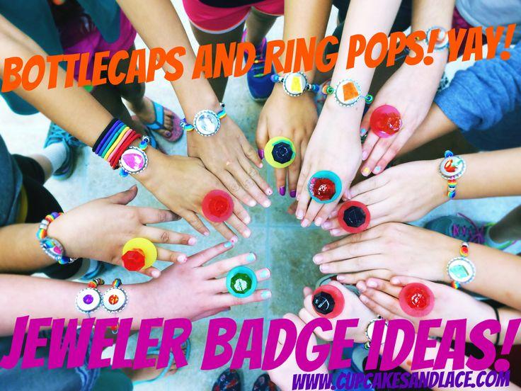 Jeweler Junior Girl Scout Badge Ideas #jewelerbadge #kidsjewelry #diyjewelry…