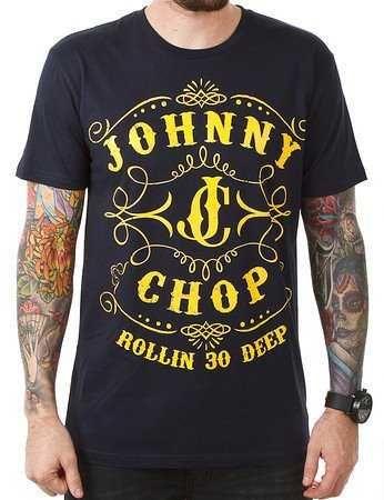 Johnny Chop Tee - JC Logo - SALE - $32.49  - Instore Or Online $32.49 AUD