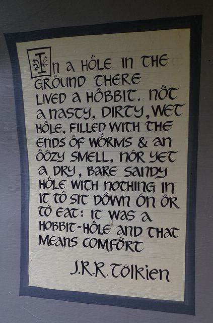 J.R.R. Tolkien. This is literally one of my favorite quotes of all time. I am a mythical creature at heart!