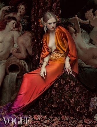 ♥ Romance of the Maiden ♥ couture gowns worthy of a fairytale - Vogue