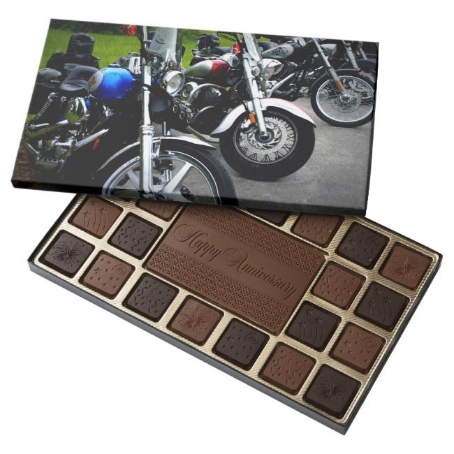 Motorcycle Road Trip Boxed Chocolates