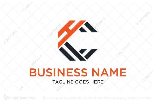 Letter Ch Monogram Logo Monogram Logo Lettering Architecture Logo