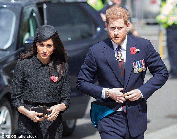 15++ Harry And Meghan Remembrance Day Photo