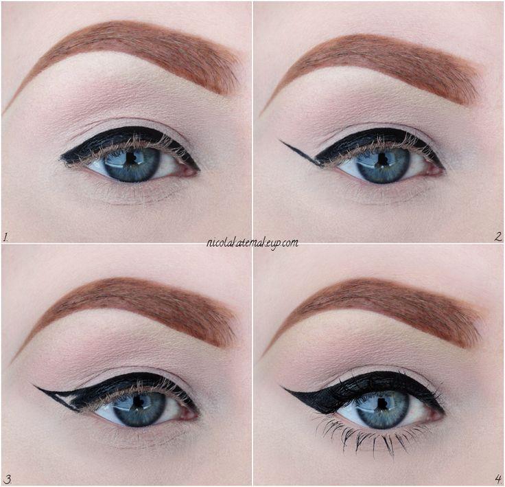 Nicola Kate Makeup: Eyeliner In 4 Easy Steps: Featuring Eyeko Visual Eyes