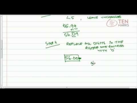 Round Decimals to the Nearest Tenth or Hundredth 7min