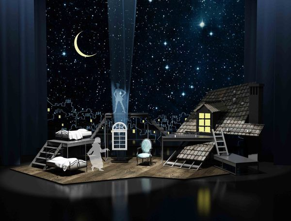 Set design peter pan on behance other theatre stuff for Tisch design for stage and film