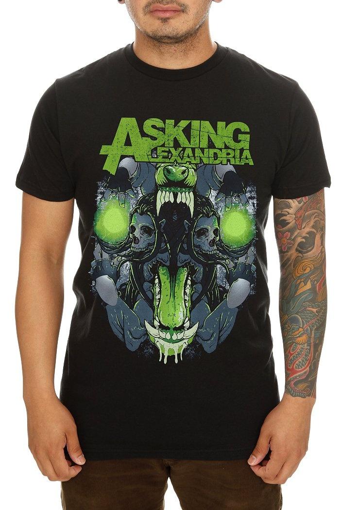 Asking Alexandria Teeth Slim-Fit T-Shirt