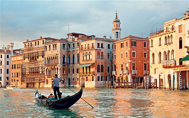 I'd love to go to Venice, although I've been to the Venetian in both Vegas AND Macau so I've practically been already. I'll give it another ten years to save up for my gondola ride though as the current price for a half hour trip is £29,000 and rising. I've heard.