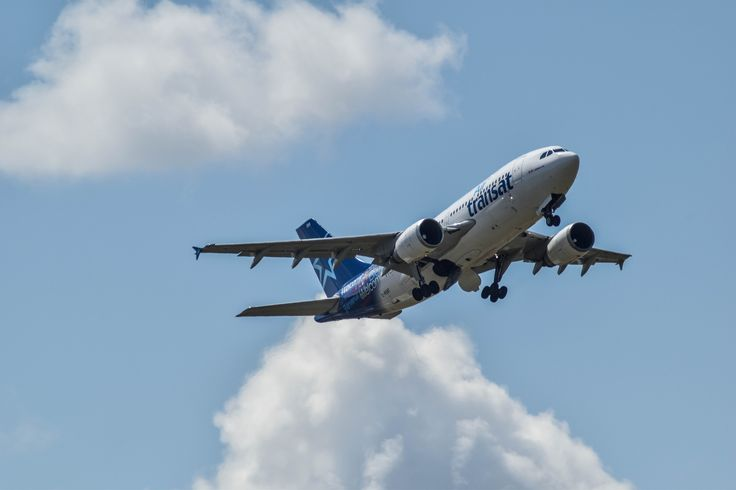 https://flic.kr/p/Kpv6dX | A310 Air Transat | Airbus A310 d'Air Transat ce matin…