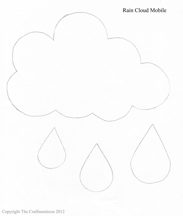 Best  Cloud Template Ideas On   Paper Clouds