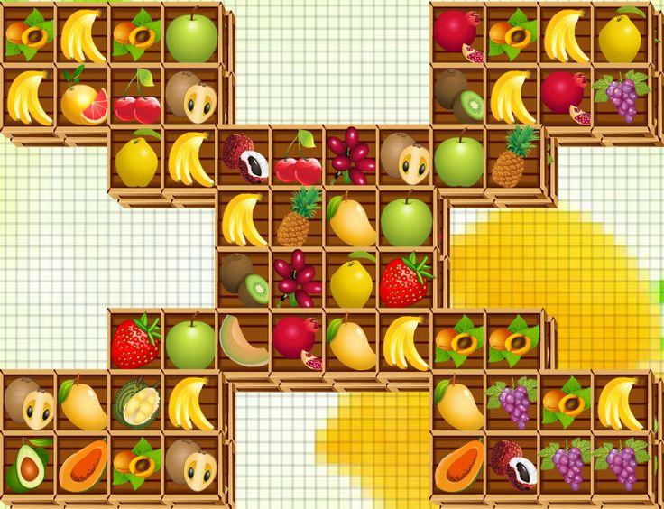 Gyümölcsös madzsong – Fruits Mahjong Itt játszható - Play: http://eroszakmentes.com/gyumolcsos-madzsong-fruits-mahjong/