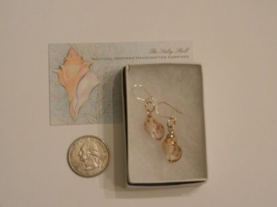 Small Areola Gold Plated Shells with by TheSaltyShell on Etsy, $16.00