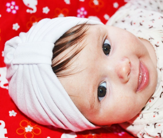 knit baby #turban