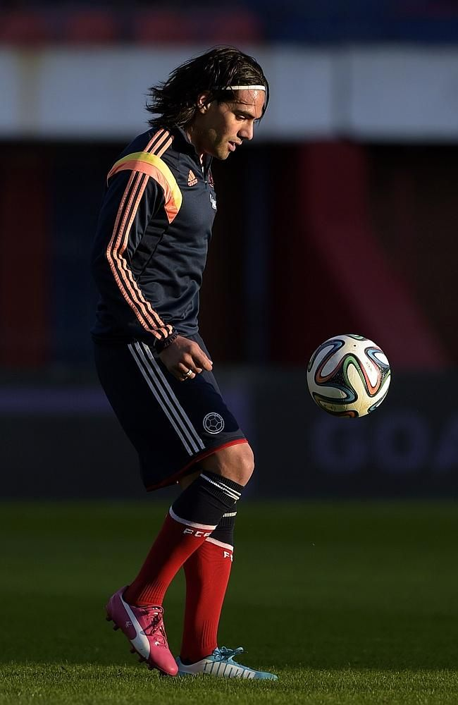 Group C MVP: Radamel Falcao, Colombia and AS Monaco. Falcao pulled out of the World Cup i