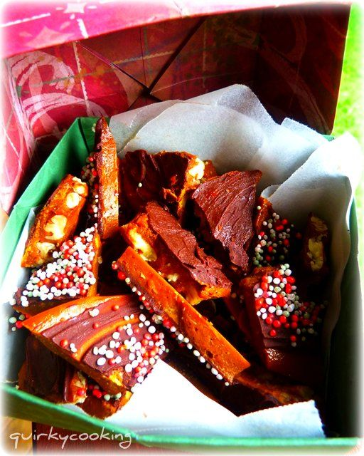 Rapadura-Maple Syrup Butter Toffee