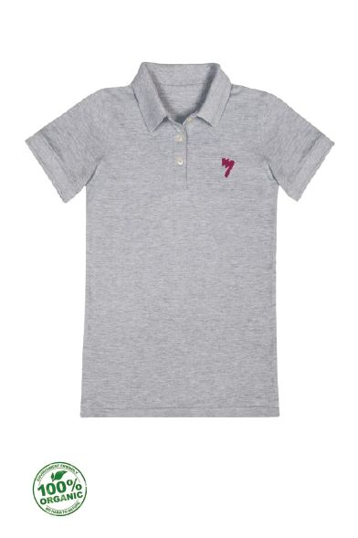 Ladies Organic Polo - New AM Logo