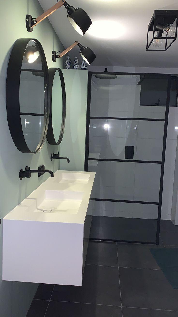Tiz Design Kwaliteits Badkamermeubels Solid Surface Spiegel Badkamer Badkamermeubels Luxe Badkamer