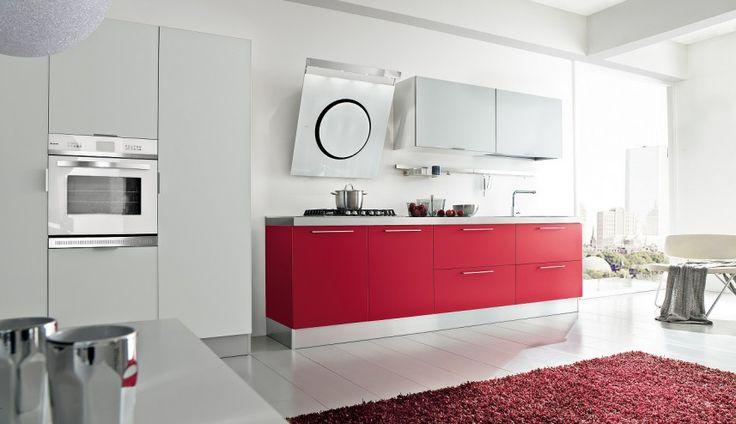 Prezentujemy kuchnię z frontami foliowanymi w satynie dostępną w 5 kolorach. Idealna do minimalistycznego wnętrza.  http://www.mega-meble.pl/produkt-Kuchnia_Polis-622
