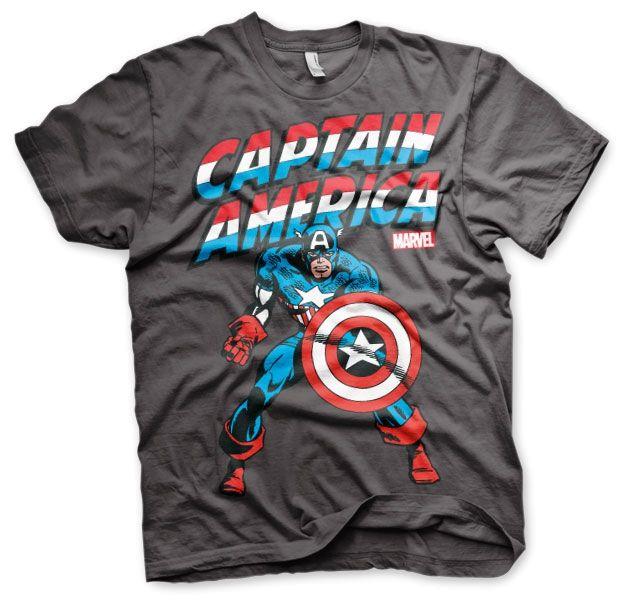 Marvel Captain America Koszulka Męska