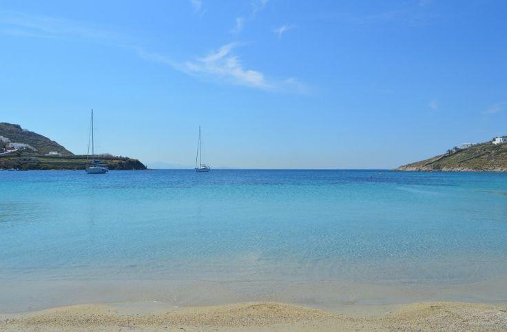 Paradise Beach, Mykonos #Greece #Grekland #Mykonos #island #Ö #mediterranean #medelhavet #Paradise #Beach #ParadiseBeach #Strand #paradis #nattliv #sol #bad #vacation #semester #travel