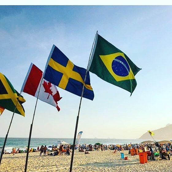 Beach Rio  #rio #olympic #rio2016 #condom #olympics #brazil #roadtorio #samba #makeithappen #countdown #roadtorio #wirhabeneinziel #timebrasil #brasil #football #brasilfootball #rionews #rioexpress #expressnews #sportsnews #instanews #instasports #tbt #like #follow #2016olympics #competition #schedule #Rumba #espanol