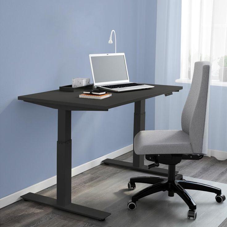 Clevr Electric Dual Motor Standup Desk Frame With Table Top Black With Images Barn Door Tv Stand Door Design Standing Desk