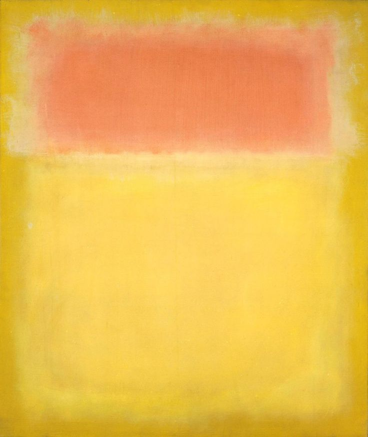 Abstract painting: Untitled by Mark Rothko, 1951.